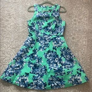 J.Crew zip back dress